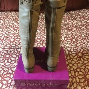 Rampage Shoes - Rampage Sylvestra Knee High Motorcycle Boots